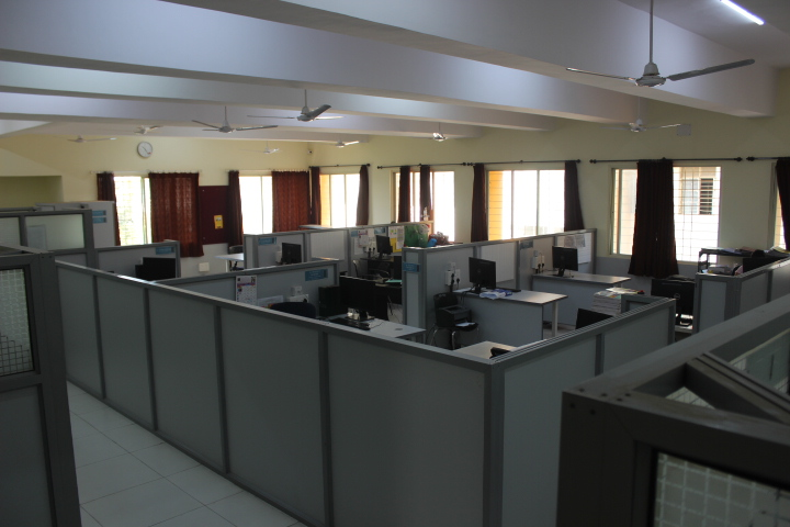 College Infrastructure at S. B. Patil College of architecture and design