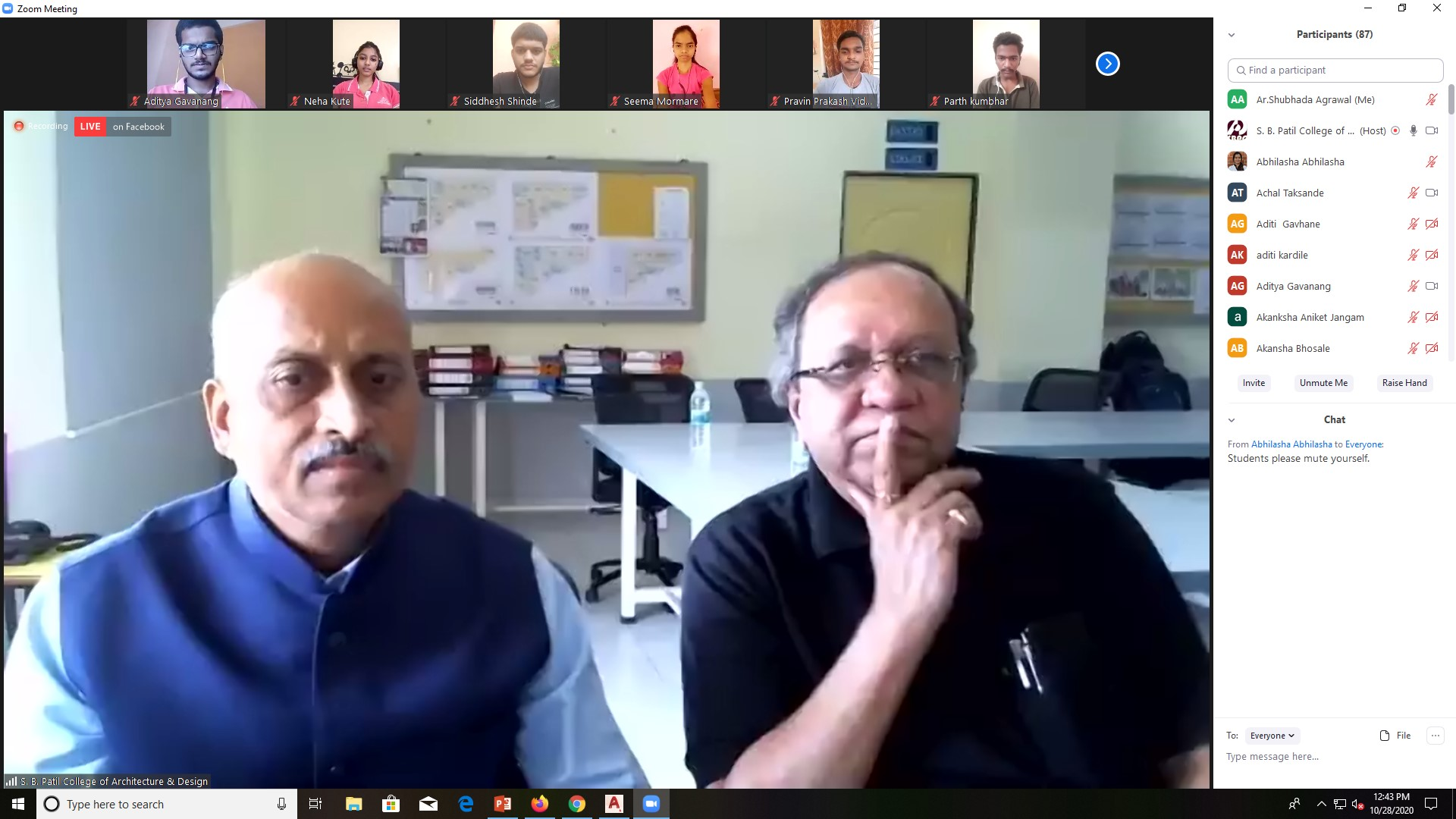 Workshop on Designing Made Simple by AR. Mehta