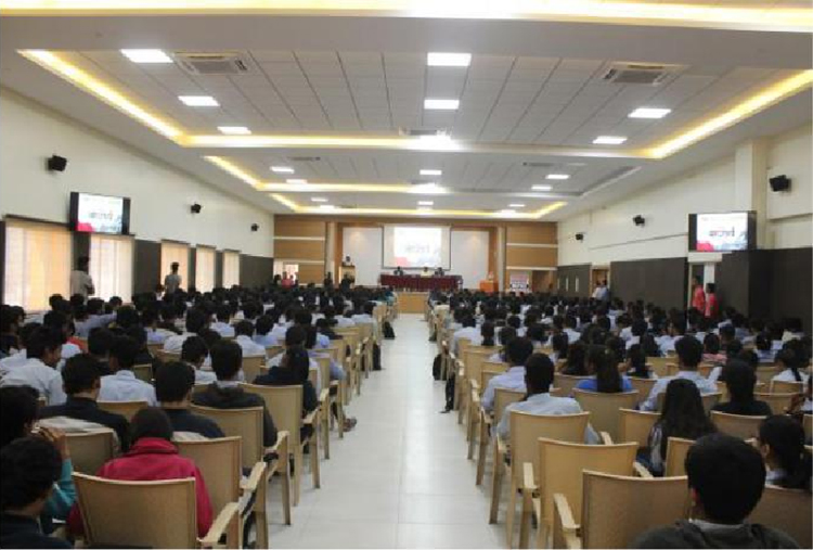 Audience- Guest lectures at S B Patil College of architecture and design