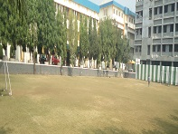 Football ground facility at S. B. Patil College of architecture and design